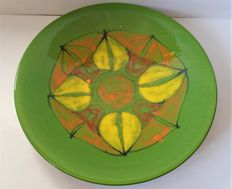 "Poole Pottery 'Delphis' 1960's Charger, 16"", shape 54"