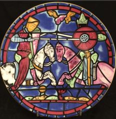 Cartier Paris - 3 plates in Limoges porcelain (limited edition) - theme from the Cathedral of Chartres