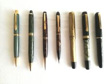 Soennecken, Montblanc, Vendex, Moor, William's, Sphinx, Artus - propelling pencils and fineliner pens