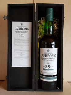 Laphroaig Islay Single Malt Scotch Whisky 25 years old