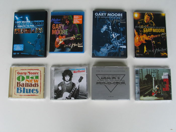 Gary Moore - 6 x CD + 4 x DVD + 1 x Blue Ray Disc - 1990 / 2010.