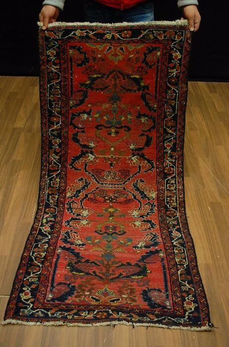 Antique rug Iran around 1930 ca: 160x75cm