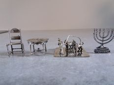 Silver miniatures. The Netherlands, early 20th century