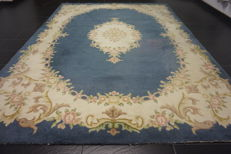 Beautiful old hand-knotted China carpet, China, Art Deco, Beijing, old rug, 240 x 330 cm