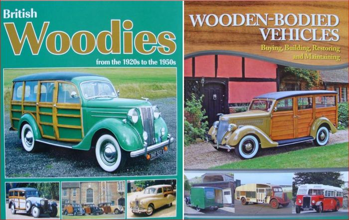 2 libros - Woodies (Wooden-Bodied Vehicles) - 2013 (2 objetos)