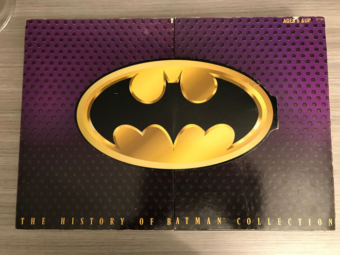 "The History of Batman Collection Set Batman 12"" Action Figure - Hasbro-1996"
