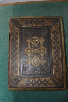 Henry Tyrrell, W. C. Stafford and John Sherer-  The Royal History of England - 1877