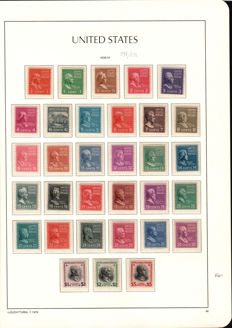 USA 1929/1963 - selection of stamps from the time period