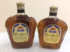 2 bottles - Crown Royal Blended Canadian Whisky