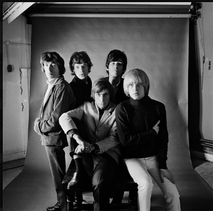 Gered Mankowitz (1946-) - The Rolling Stones, Masons Yard, 1965