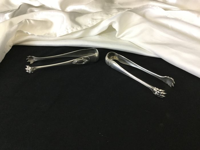 Set of two sugar tongs, France 1950s