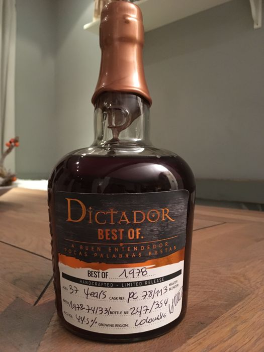Dictador best of 1978 - 37 years - Handcrafted - Limited Release