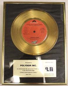 Peaches & Herb - Shake your groove thing - Golden single in frame