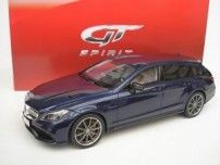 GT-Spirit - Schaal 1/18 - Mercedes-Benz CLS 63 AMG Shooting Break - Blauwmetallic