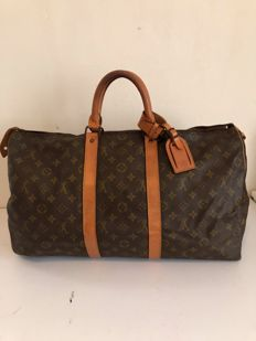 Louis Vuitton - keepall 50 bandouliere - large travel bag