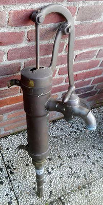20th century copper water pump