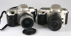 Nikon F60 and Nikon F50 with standard zoom