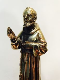 Holy father of bronze plating by A. Lucchesi - 1992