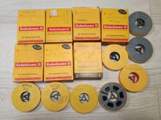 Lot consisting of 15 8mm Kodak Films