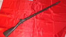 Infantry percussion rifle model 1822 T
