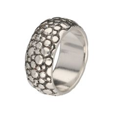 925/1000 - Silver band ring by CASA Jewelry - Ring size: 18.5 mm
