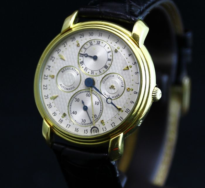 Maurice Lacroix - Masterpiece Regulateur Perpetual Calendar - 19275 - Heren