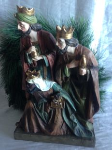 The Three Wise Men with the gifts, 45 x 30