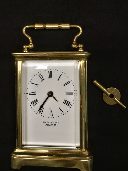 Travel clock / Carriage clock - approx. 1900