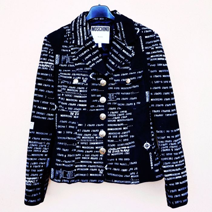Vintage jacket by MOSCHINO