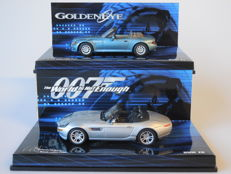 James Bond - Minichamps - Scale 1/43 - BMW Z3 from Goldeneye and BMW Z8 from The World is not Enough