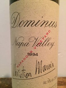 "1994 Dominus ""Napanook Vineyard "", Christian Moeuix / Napa Valley / USA x  1 bottle,"