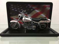 Franklin Mint Harley Davidson super glide 1:10 in showcase