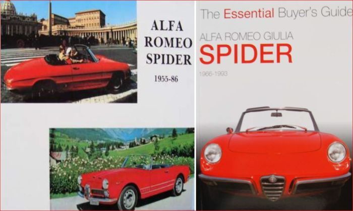 2 Books - Alfa Romeo Spider  - 2005 (2 items)