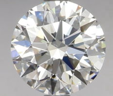 0.70 ct Round Brilliant Diamond DVVS1 IGI Serial# 18116 -orginal-image-10X