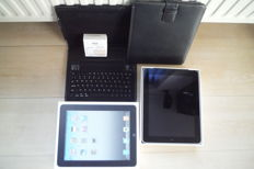 Apple IPAD 1 - 64 GB - WiFi - 3G + charger. Boxed. With lot extra's.