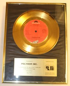 Peaches & Herb - Reunited - Golden single in frame