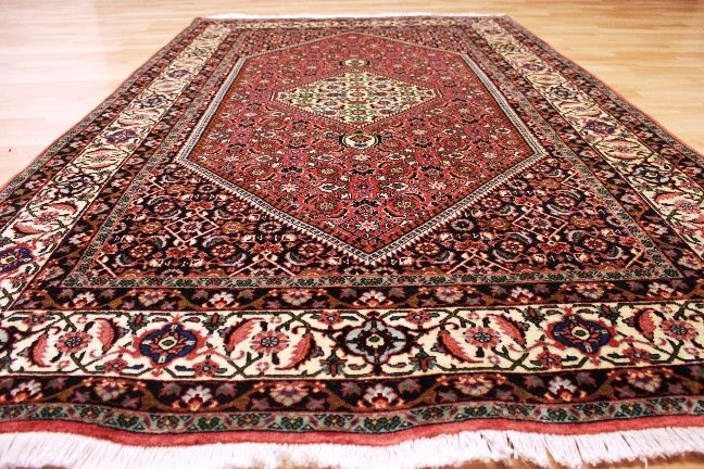Royal oriental carpet, genuine BIDJAR - cork wool - 222 x 138 cm - top condition