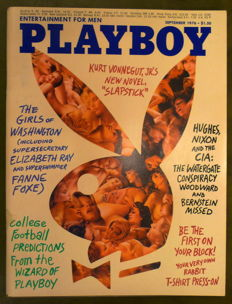 Playboy USA; Lot with 12 issues of Hugh Heffner's Playboy - 1976