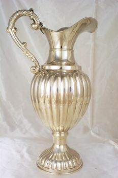 Sterling silver ewer, European craftsmanship from the early 20th century