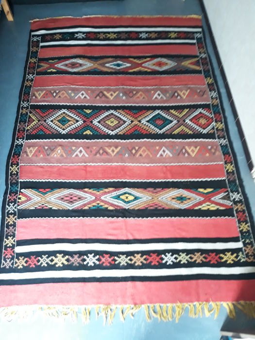 Old Berber Kabylie rug, around 1950