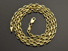 18k Gold Necklace. Chain - 50 cm. Weight 5.16 g. No reserve price.