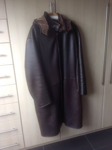 Gabriel Angeli - Long leather men's coat