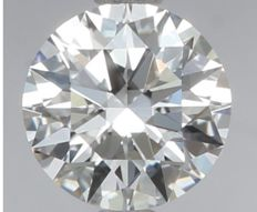1.02 ct Round Brilliant Diamond DIF IGI 3EX Serial# 1970-orginal-image-10X