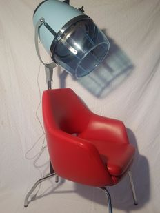 Chair of hairdressing - vintage - 20th century