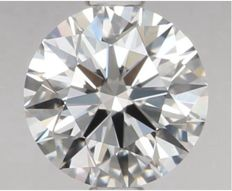 Round Brilliant   0.85 ct   D VVS2    GIA- original image -10x #321