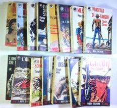 "Crepax, Guido - 15x books (novels) ""I Nuovi Sonzogno"" - Covers by Crepax (1966-73)"