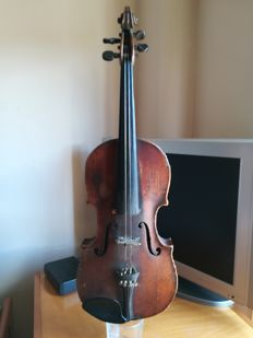 Antique violin from the 1889