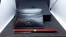 Card Holder & St Dupont Pen