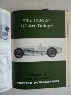 All 96 Classic Car Profiles -  in 3 volumes 1-24 , 25-60  and 61-96 -  1966 to 1967.