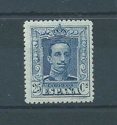 Spain 1922/1930 – Alfonso XIII - Vaquer style. Value not issued - Edifil NE 24